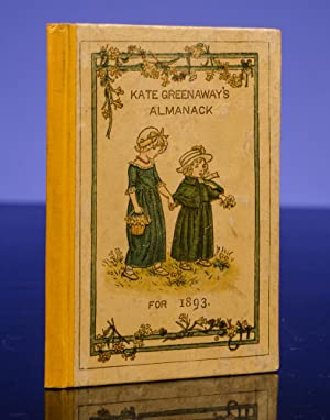 Almanacks for 1883[-1895] [And:] Kate Greenaway's Almanack & Diary for 1897: GREENAWAY, ...