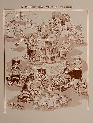 Animal Happyland: WAIN, Louis, illustrator; RIDLER, A.W.