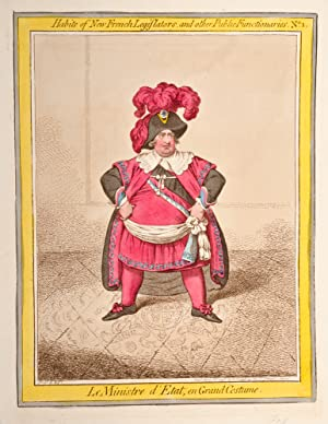 Habits of New French Legislators: GILLRAY, James