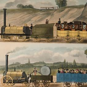 Coloured Views on the Liverpool and Manchester Railway: BURY, T[homas T[albot]