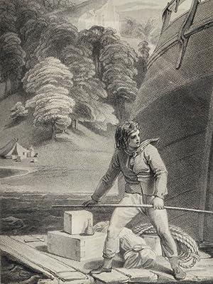Life and Adventures of Robinson Crusoe, The: DEFOE, Daniel; STOTHARD, Thomas; Mackenzie, J., binder