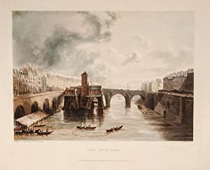 Picturesque Tour of the Seine from Paris to the Sea: SAUVAN, Jean-Baptiste-Balthazar