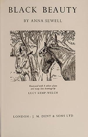 Black Beauty: SEWELL, Anna; [KEMP-WELCH, Lucy, Illustrator]; BATNTUN-RIVIÈRE, binder