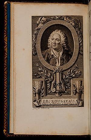 Oeuvres de Rousseau: ROUSSEAU, Jean Baptiste; [DEROME, Nicholas Denis aka Le Jeune, binder. ...