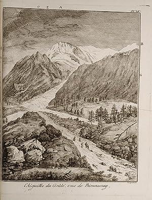 Voyages dans les Alpes: SAUSSURE, Horace Benedict
