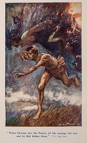 Greek Heroes, The: RACKHAM, Arthur, illustrator; NIEBUHR, Barthold Georg