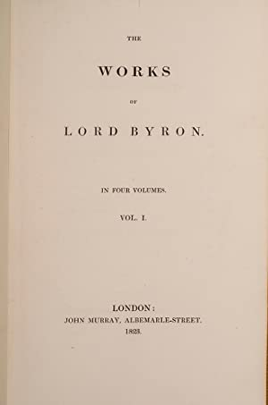 Works, The: BYRON, Lord George Gordon