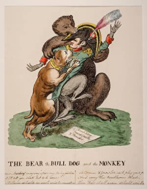 The Bear the Bull Dog and the Monkey
