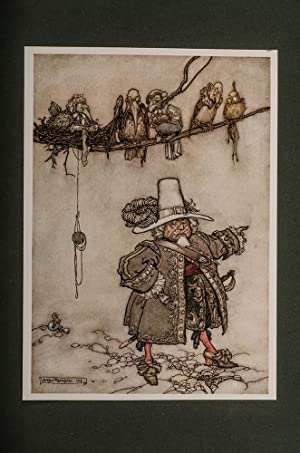 Rip Van Winkle: RACKHAM, Arthur, illustrator; IRVING, Washington