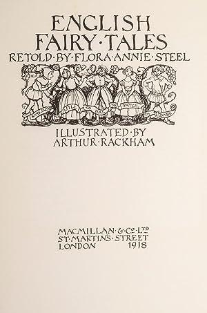 English Fairy Tales: RACKHAM, Arthur, illustrator; STEEL, Flora Annie