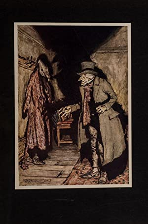 Christmas Carol, A.: RACKHAM, Arthur; DICKENS, Charles