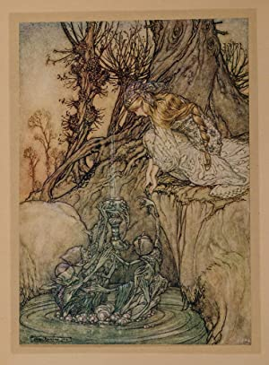 Arthur Rackham's Book of Pictures: RACKHAM, Arthur, illustrator; Quiller-Couch, Sir Arthur