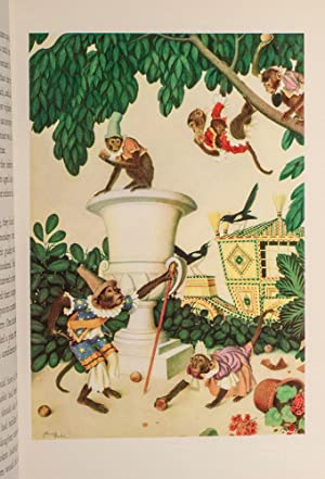 Fairy Garland, A.: DULAC, Edmund, illustrator; Perrault, Charles; Aulnoy, Madame d'; Hamilton, ...
