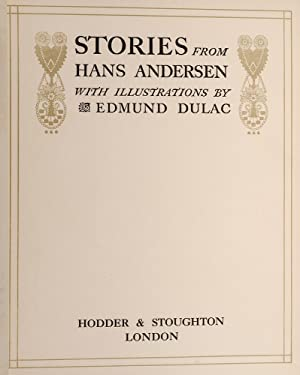 Stories from Hans Andersen: DULAC, Edmund; Andersen, Hans Christian