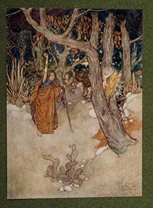 Shakespeare's Comedy of The Tempest: DULAC, Edmund, illustrator; SHAKESPEARE, William