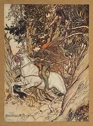 Undine: RACKHAM, Arthur, illustrator; FOUQUE, De La Motte