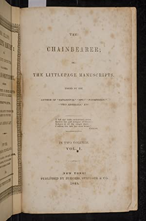 Chainbearer, The; or The Littlepage Manuscripts: COOPER, James Fenimore