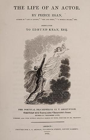 Life of an Actor, The: EGAN, Pierce; LANE, Theodore, illustrator