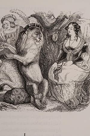 Fables de la Fontaine: GRANDVILLE, J.J. (pseud. of Jean-Ignace-Isidore Gerard); LA FONTAINE, [Jean ...