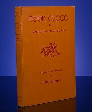 Poor Cecco: RACKHAM, Arthur; BIANCO, Margery Williams