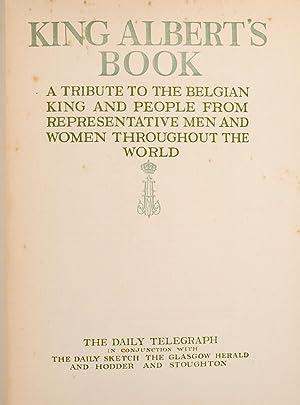 King Albert's Book: RACKHAM, Arthur; DULAC, Edmund; NIELSEN, Kay; PARRISH, Maxfield, et al.