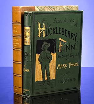 Adventures of Huckleberry Finn (Tom Sawyer's Comrade): TWAIN, Mark |
