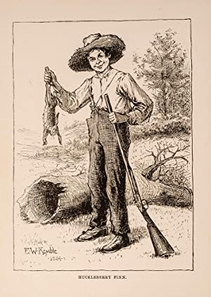 Adventures of Huckleberry Finn (Tom Sawyer's Comrade): TWAIN, Mark; (CLEMENS, Samuel L.)