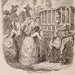 Illustrations of Don Quixote: CRUIKSHANK, George; CERVANTES,