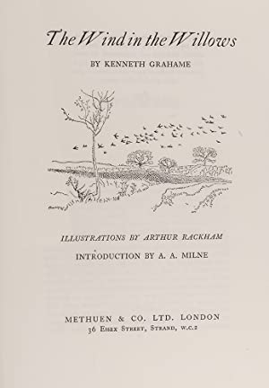 The Wind in the Willows: RACKHAM, Arthur; GRAHAME,