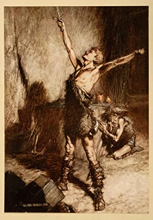 Rhinegold & The Valkyrie, The [and] Siegfried & The Twilight of the Gods: RACKHAM, Arthur, ...