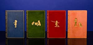 [Complete Set of the Pooh Books, A]. When We Were Very Young. Winnie the Pooh. Now We Are Six. Th...