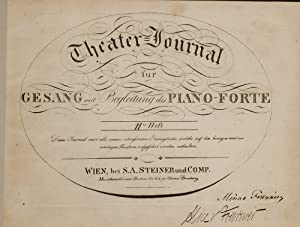 [Sammelband of Engraved Sheet Music for Voice and Piano