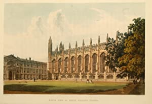 History of the University of Cambridge, Its Colleges, Halls, and Public Buildings, A.: ACKERMANN, ...