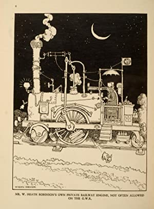 Railway Ribaldry: ROBINSON, W. Heath, illustrator