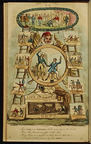 Real Life in London;: ALKEN, Henry; Root & Son; EGAN, Pierce, imitation of; ROWLANDSON, Thomas