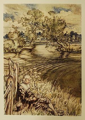 Compleat Angler or The Contemplative Man's Recreation, The: Rackham, Arthur; WALTON, Izaak; ...