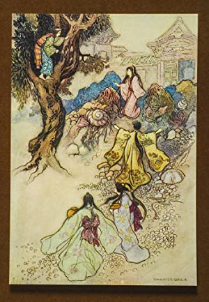 Green Willow and Other Japanese Fairy Tales: GOBLE, Warwick, illustrator]; JAMES, Grace