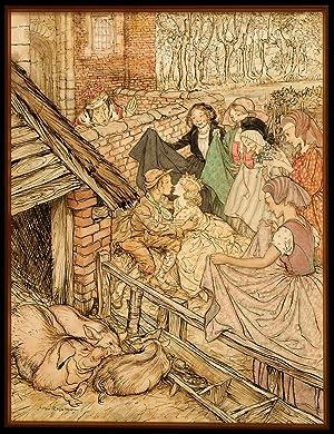 Just as the swineherd was taking the eighty-sixth kiss: RACKHAM, Arthur