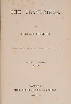 Claverings, The: TROLLOPE, Anthony; Edwards, M. Ellen