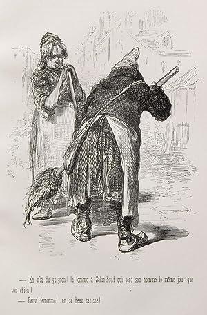 Diable a Paris, Le: GAVARNI; Chevalier, Sulpice-Guillaume; Bertall, Albert d'Arnoux; Hetzel, J.