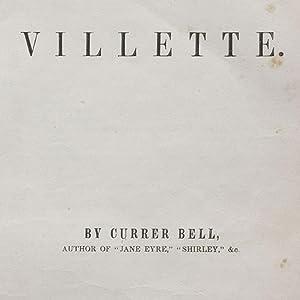 Villette: BRONTÉ, Charlotte