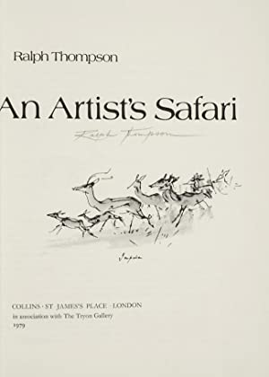 Artist's Safari, An: ZAEHNSDORF, binder]; Thompson, Ralph