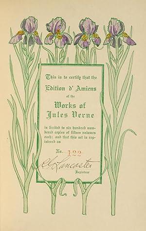 Works [Edition d'Amiens]: VERNE, Jules; Horne, Charles F.