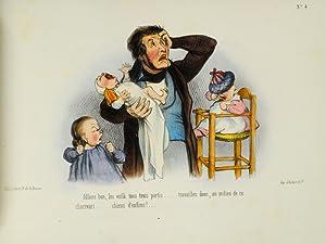 Ces Amours d'enfans: DAUMIER, Honoré; BELIN, Auguste; PLATTIER, Jules
