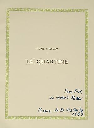 Quartine, Le: DULAC, Edmund, illustrator;