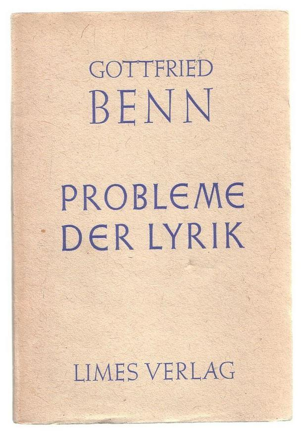Probleme Der Lyrik Vortrag In Der