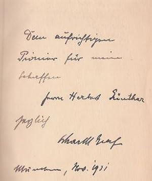 Bolwieser. Roman eines Ehemannes.: Graf, Oskar Maria.