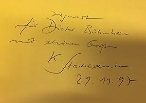 Karlheinz Stockhausen. 1. Einführung in das Gesamtwerk.: Stockhausen, Karlheinz.
