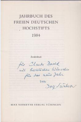 Moses Mendelssohn, Faust, die Unsterblichkeit und der: Sternberger, Dolf.