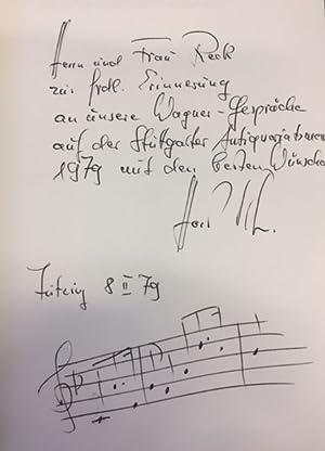 Erst- und Frühdrucke der Textbücher von Richard: Klein, Horst F.
